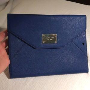 Michael Kors I pad case. Royal blue.  Gorgeous